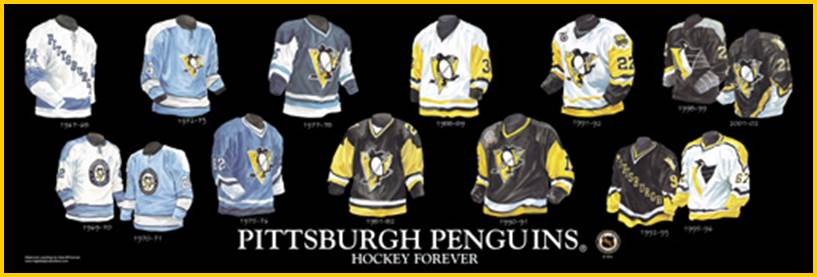 Penguins Sweater History