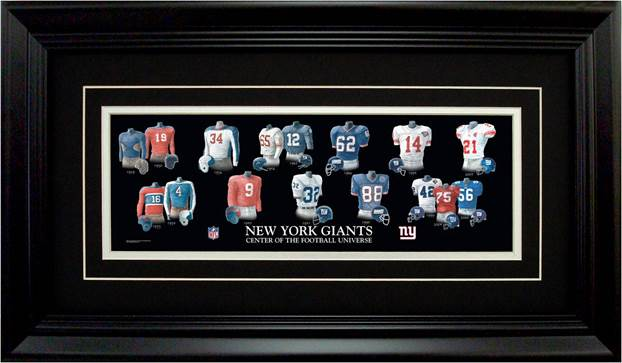 Offering Two Powerful Artworks Celebrating the New York Giants and ...